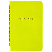 Buy Meri Meri Time To Shine Notebook, Yellow Online at johnlewis.com