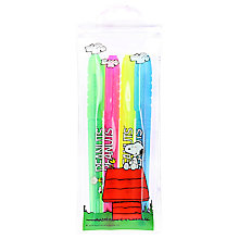 Buy Peanuts Highlighters, Pack of 4 Online at johnlewis.com