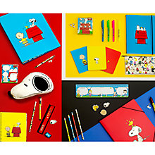Buy Peanuts Stationery Collection Online at johnlewis.com