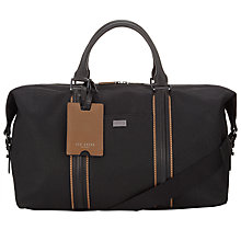 Buy Ted Baker Hodor Canvas Holdall, Black Online at johnlewis.com