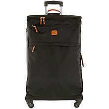 Buy Bric's X Travel 77cm 4-Wheel Large Suitcase, Black Online at johnlewis.com
