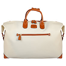 Buy Bric's Bojola Medium Holdall, Cream Online at johnlewis.com