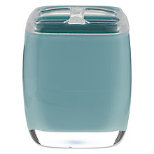 Buy House by John Lewis Cubi Toothbrush Holder, Teal Online at johnlewis.com