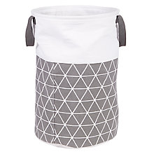 Buy House by John Lewis Isometric Laundry Bin Online at johnlewis.com