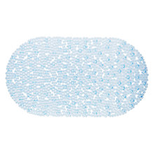 Buy John Lewis Blue Jewel In-Bath Mat Online at johnlewis.com