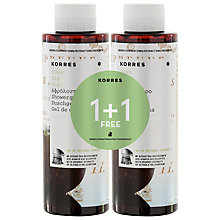 Buy Korres Fig Shower Gel, 2 x 250ml Online at johnlewis.com
