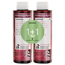 Buy Korres Japanese Rose Shower Gel, 2 x 250ml Online at johnlewis.com
