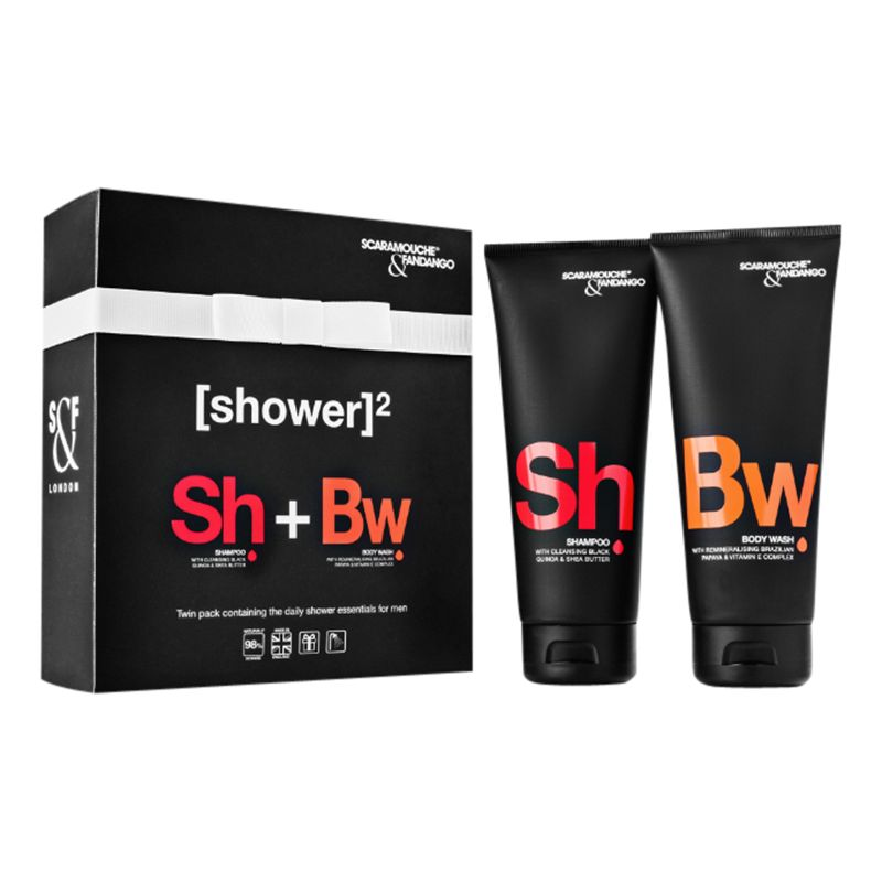 Scaramouche and Fandango Scaramouche and Fandango Men's Shower Duo Pack