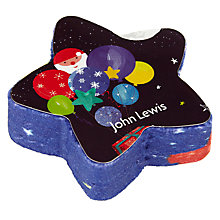 Buy John Lewis Man on the Moon Magic Face Cloth, Multi Online at johnlewis.com