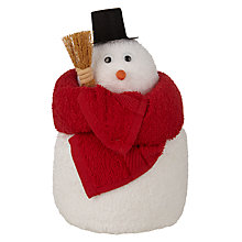 Buy John Lewis Novelty Snowman Towel Bale Online at johnlewis.com