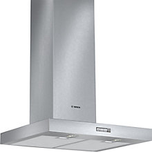 Buy Bosch DWB064W50B Chimney Cooker Hood, Brushed Steel Online at johnlewis.com