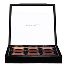 Buy MAC Eyeshadow, Burgundy x 9 Online at johnlewis.com