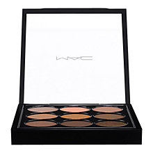 Buy MAC Eyeshadow, Amber x 9 Online at johnlewis.com