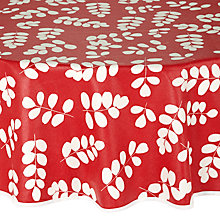 Buy John Lewis Malin Table Cloth, Circle Online at johnlewis.com