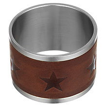 Buy Lexington Leather Napkin Ring Online at johnlewis.com
