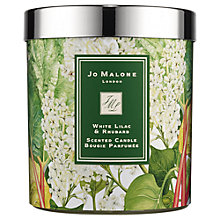 Buy Jo Malone White Lilac & Rhubarb Charity Candle Online at johnlewis.com