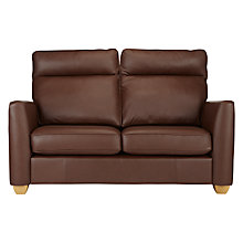 Buy John Lewis Walton II Small Leather Sofa Online at johnlewis.com