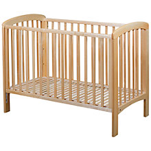 Buy John Lewis Anna Dropside Cot, Natural Online at johnlewis.com