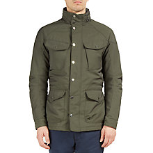 Buy Hackett London Winter Velo Jacket, Olive Online at johnlewis.com