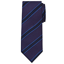 Buy Paul Costelloe Oxford Stripe Silk Tie Online at johnlewis.com
