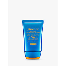 Buy Shiseido Wetforce Expert Sun Aging Protection Lotion SPF 50+, 50ml Online at johnlewis.com