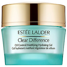 Buy Estée Lauder Clear Difference Oil Control Mattifying Hydrating Gel, 50ml Online at johnlewis.com