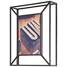 "Buy Umbra Matrix Photo Frame, 5 x 7"", Black Online at johnlewis.com"