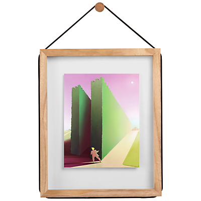 Umbra Corda Floating Photo Frame, 8 x 10
