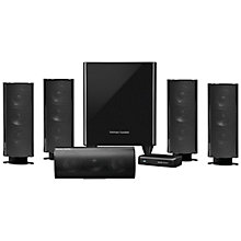 Buy Harman Kardon HKTS 35 5.1 Speaker System with Powered, Wireless Subwoofer Online at johnlewis.com