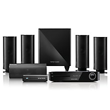 Buy Harman Kardon BDS 880 5.1 Channel 3D Wi-Fi NFC Bluetooth Blu-ray/DVD player with Wireless Subwoofer Online at johnlewis.com