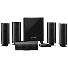 Buy Harman Kardon HKTS 65 5.1 Speaker System with Wireless Subwoofer Online at johnlewis.com
