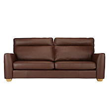Buy John Lewis Walton II Grand Leather Sofa Online at johnlewis.com