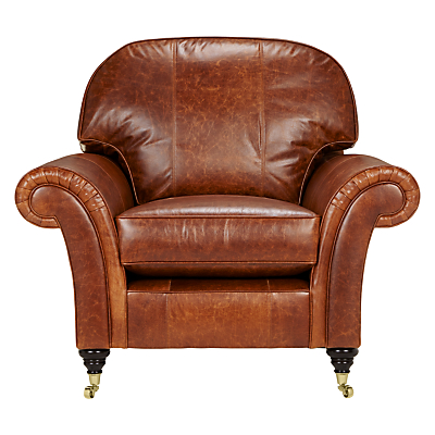John Lewis Beaumont Leather Snuggler