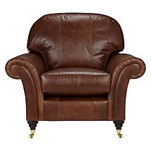 Buy John Lewis Beaumont Leather Snuggler Online at johnlewis.com