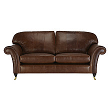Buy John Lewis Beaumont Large Leather Sofa Online at johnlewis.com