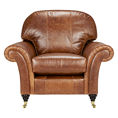 John Lewis Beaumont Leather Snuggler