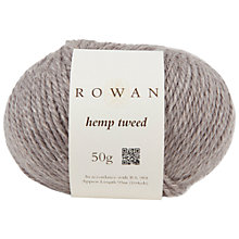 Buy Rowan Hemp Tweed Yarn, 50g Online at johnlewis.com