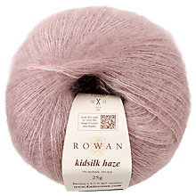 Buy Rowan Kidsilk Haze Yarn, 25g, Shadow 653 Online at johnlewis.com