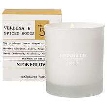 Buy Stoneglow No. 5 Verbena & Spiced Woods Scented Candle Online at johnlewis.com