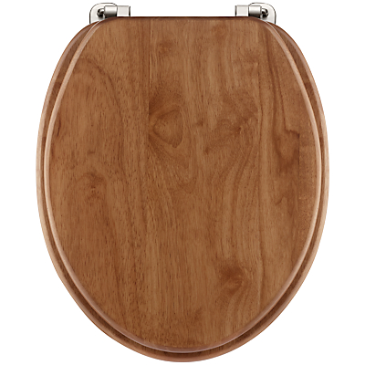 John Lewis Hackberry Wood Toilet Seat