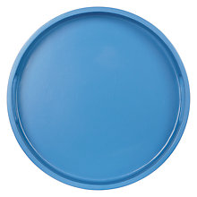 Buy John Lewis Round Tray Nordic Blue Online at johnlewis.com