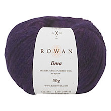 Buy Rowan Lima Alpaca & Merino Mix Aran Yarn, 50g Online at johnlewis.com