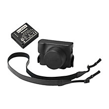 Buy Panasonic Leather Camera Case & DMW-BLG10 Battery For DMC-LX100 Digital Camera Online at johnlewis.com