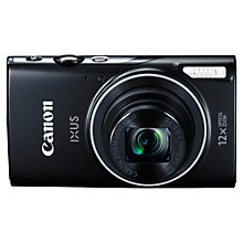 "Buy Canon IXUS 275 HS Compact Digital Camera, 20MP, Full HD 1080p, NFC, Built-In Wi-Fi, 3"" LCD Screen Online at johnlewis.com"