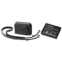 Buy Panasonic Leather Camera Case & DMW-BCM13E Battery For LUMIX TZ60 Camera Online at johnlewis.com