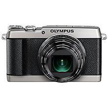 "Buy Olympus SH-2 Compact Digital Camera, HD 1080p, 16 MP, Wi-Fi, 3"" LCD Touch Screen Online at johnlewis.com"