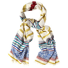 Buy White Stuff Folkloric Jacquard Scarf, Multi Online at johnlewis.com