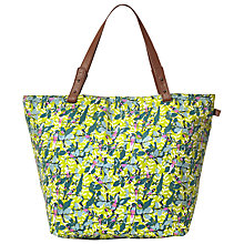 Buy White Stuff Canvas Printed Shopper, Green Online at johnlewis.com