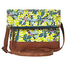 Buy White Stuff Lizzie Cross Body Bag, Green Online at johnlewis.com