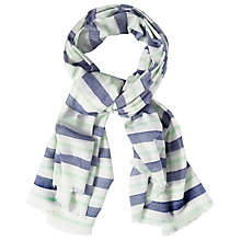 Buy White Stuff Woven Stripe Scarf, Multi Online at johnlewis.com
